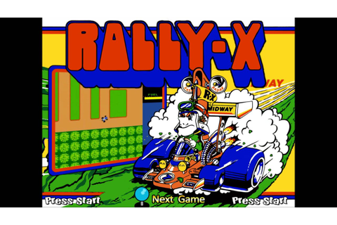 Rally-X Theme {Extended for 15 Minutes} - YouTube