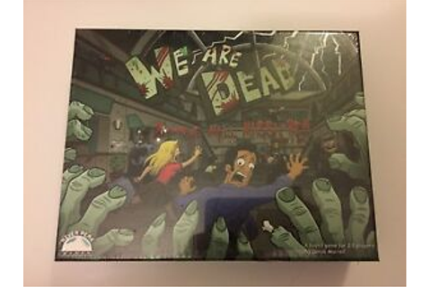 We Are Dead Zombie Mall Massacre Board Game NEW SEALED | eBay
