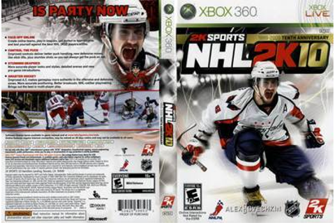 NHL 2K10 Video Game - Xbox 360 (USA) - from Sort It Apps