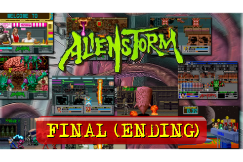 Alien Storm (Arcade) - Final [Ending] - YouTube