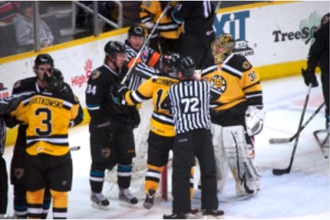 Providence Bruins vs Worcester Sharks Notes – Mojo's Work