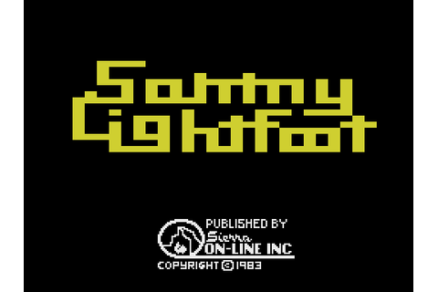 Sammy Lightfoot (1984) by Sierravision ColecoVision game