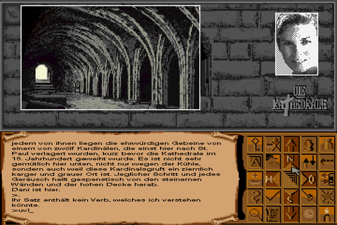 Die Kathedrale (1991) by Weltenschmiede MS-DOS game