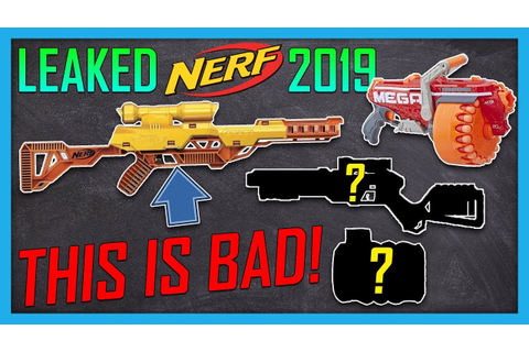 LEAKED New 2019 Nerf Alpha Strike Series! Nerf Rival Drum ...