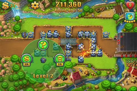 'Fieldrunners 2′ for iOS game review