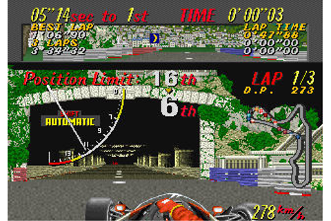 Super Monaco GP - Videogame by Sega