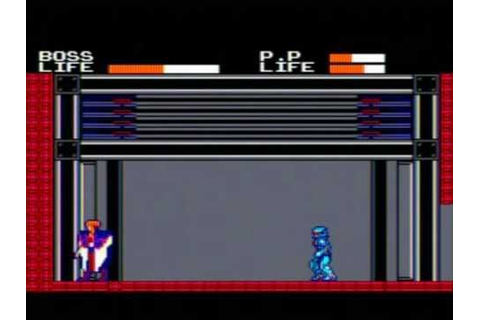 Cyborg Hunter Game Sample - Sega Master System - YouTube