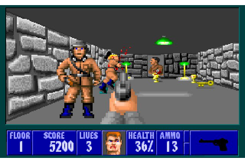 Wolfenstein 3D (1992) - PC Review and Full Download | Old ...
