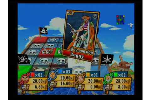 Shonen Jump's One Piece: Pirate's Carnival Board Game (PS2 ...
