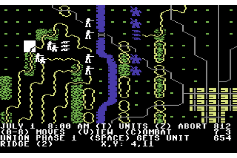 Gettysburg: The Turning Point (1986) by SSI C64 game