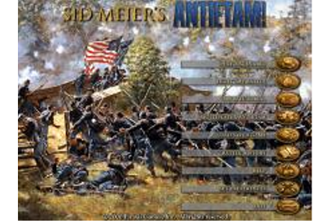 Sid Meier's Antietam! Download (1999 Strategy Game)