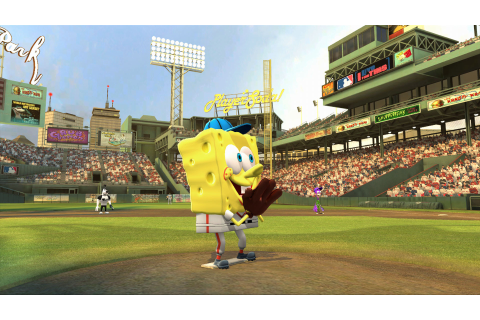 Image - SpongeBob Nick MLB.jpg - Encyclopedia SpongeBobia ...