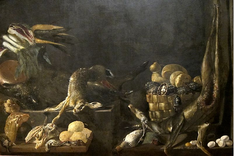 File:'Still-life with Game' attributed to Alejandro de ...