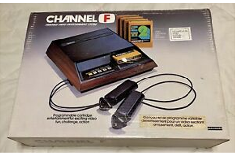 Fairchild Channel F Video Gaming System and 12 Games | eBay