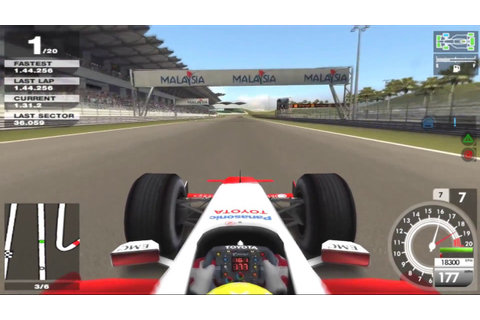 F1 05 (Formula-1 2005) PS2 PCSX2 Download - YouTube