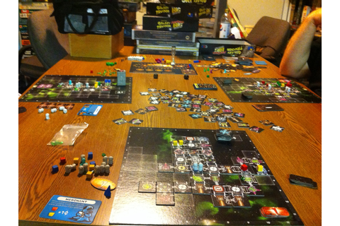 I SEE LEAD PEOPLE: Galaxy Trucker - A Really Really Mean ...
