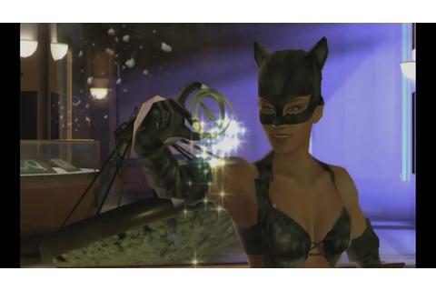 CatWoman (2004) game level one played by me on Xbox 360 ...