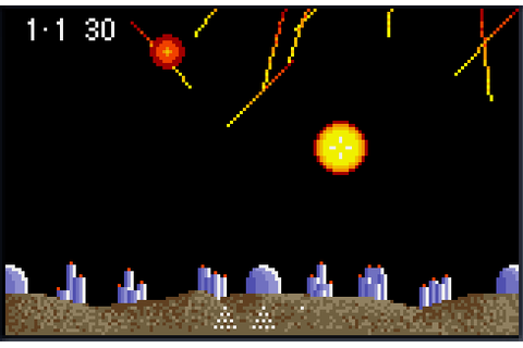 Super Asteroids, Missile Command (USA, Europe) ROM