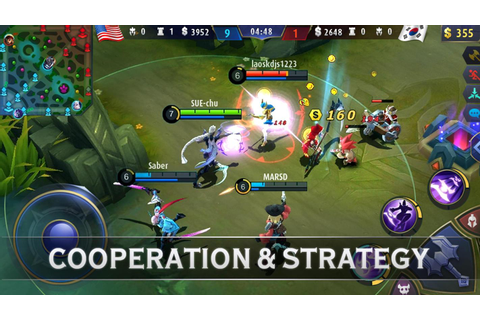 Mobile Legends: Bang Bang on Qwant Games