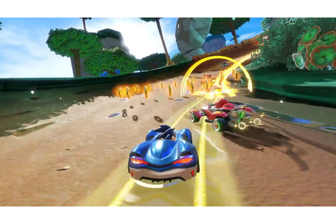 Team Sonic Racing FIRST gameplay - YouTube