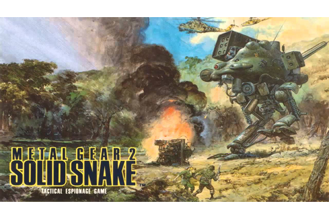 Metal Gear 2: Solid Snake 1990 Full OST - YouTube