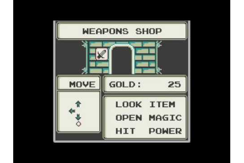The Sword of Hope II (Jeu Game Boy) - Images, vidéos ...