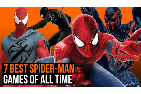 7 best Spider-Man games of all time - YouTube