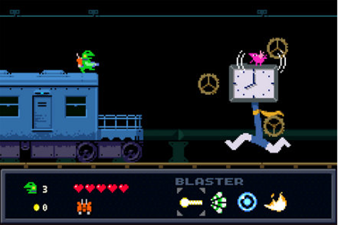 Kero Blaster Game | PS4 - PlayStation