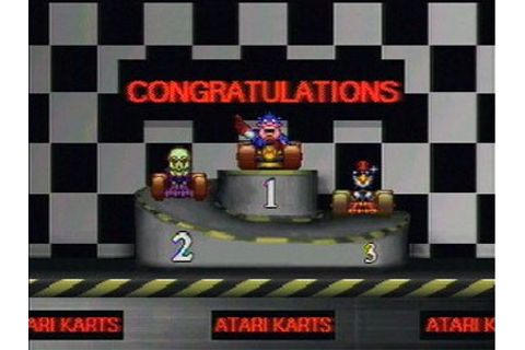 Atari Karts Review for Jaguar (1995) - Defunct Games