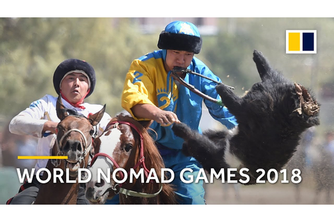 World Nomad Games 2018 kicks off in Kyrgyzstan - YouTube