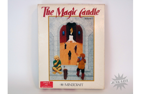 The Magic Candle Apple II Video Game RPG Mindcraft | JunkSave