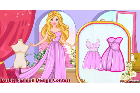 Barbie Fashion Designer Contest | Play the Game for Free ...