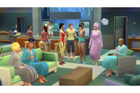 The Sims 4: Spa Day – EA ANZ Press Screenshots! – PeterSims
