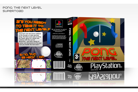 Pong: The Next Level PlayStation Box Art Cover by supertoad