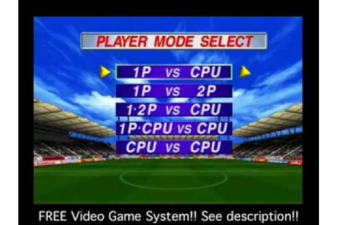 PlayStation Games - International Superstar Soccer Pro '98 ...