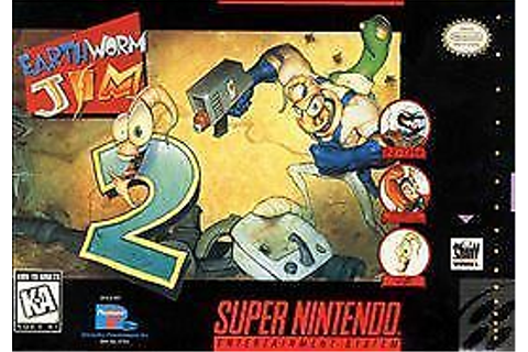 Earthworm Jim 2 (Super Nintendo Entertainment System, 1995 ...