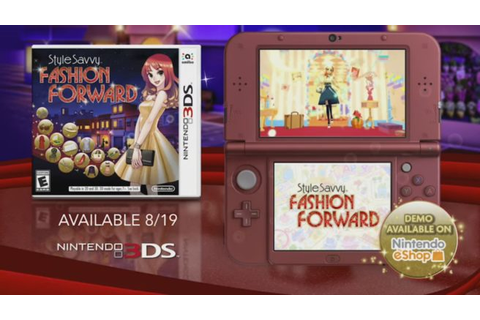 Style Savvy: Fashion Forward commercials - Nintendo Everything