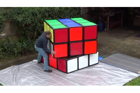 Is this the largest Rubik's Cube in the world? | The Kid ...