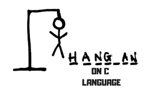 Hangman Game on C - Guess the letter - YouTube