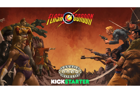 Flash Gordon™ RPG for Savage Worlds by Shane Hensley ...