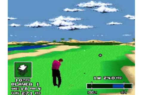 World Masters Golf - (SNES-Super Nintendo Entertainment ...