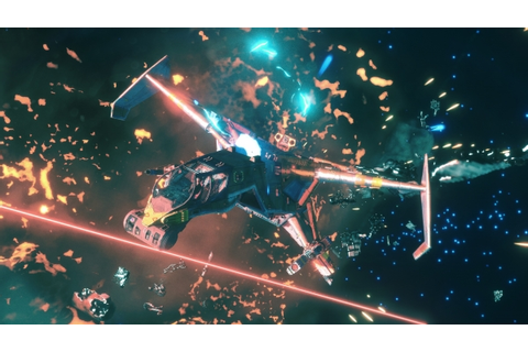 Space combat adventure game Rebel Galaxy Outlaw announced ...