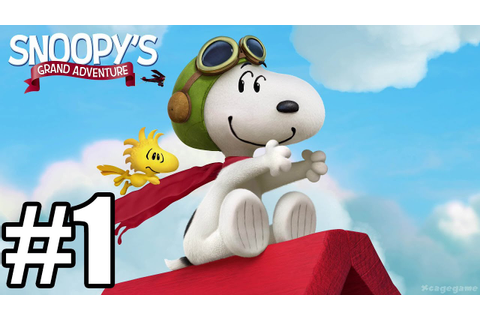 The Peanuts Movie : Snoopy's Grand Adventure - Gameplay ...