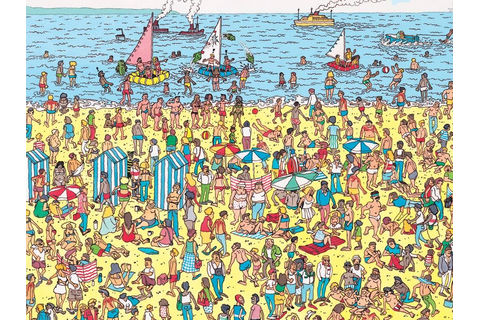 "Where's Waldo——The game like""Hide and seek"" 