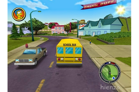 The Simpsons: Hit And Run PC Game Free Download | Hienzo.com