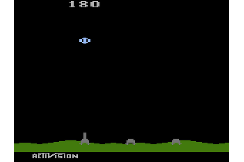Game review: Activision's Laser Blast for #Atari 2600 ...