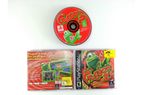 Frogger 2 Swampy's Revenge game for Playstation (Complete ...