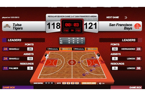 Fast Break Play (Online) Basketball Manager - GM Games