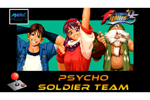 KOF 95 Arcade - Psycho Soldier Team - YouTube