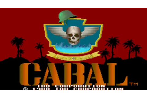 Cabal Arcade Game 1988 - First and Final Level - YouTube